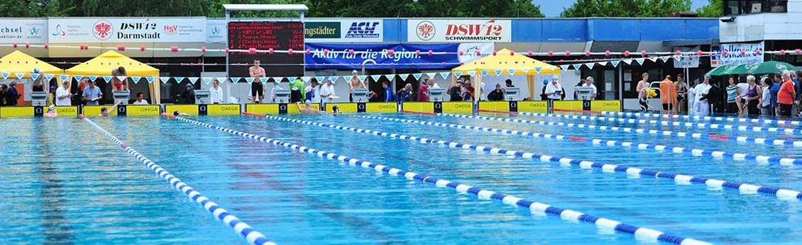 Schwimmbad Darmstadt dsw 12 schwimmabteilung