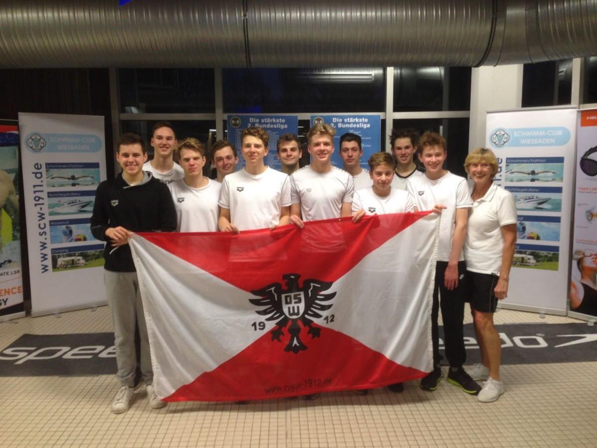 Das erfolgreiche DSW-Landesliga-Team